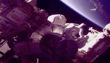 astronauti, šetnja