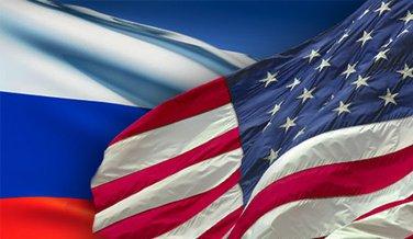 Rusija, SAD, zastave