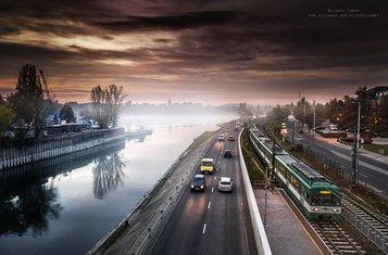 Budimpešta, magla