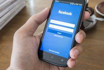 android, Facebook, telefon