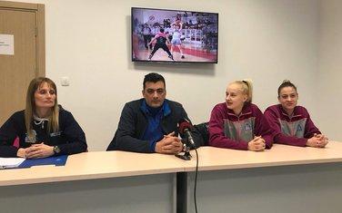 ŽKK Budućnost press, Goran Bošković, Božica Mujović