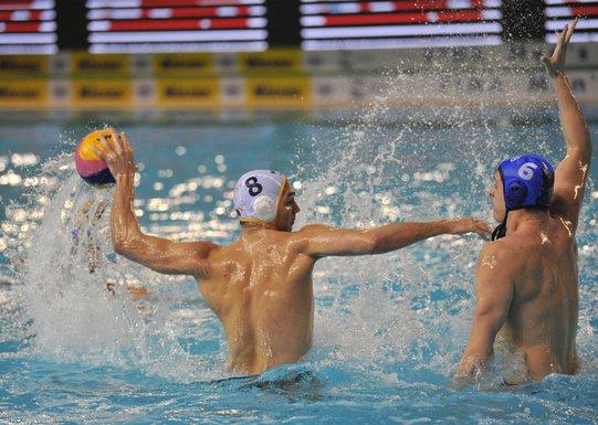 Vaterpolo reprezentacija Crna Gora - Srbija Aleksa Ukropina