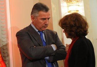 Milica Pejanović-Đurišić, Milo Đukanović