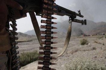 Avganistan, Talibani, Vojska