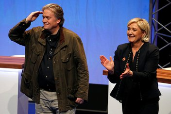 Stiv Benon, Marin Le Pen