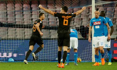 Edin Džeko AS Roma