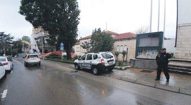 Tivat, policija
