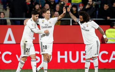 Markos Ljorente slavi gol za 3:1