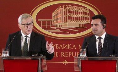Žan Klod Junker, Zoran Zaev