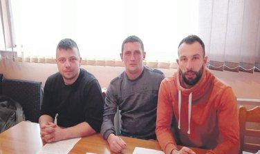 Nemanja brašanac, Marijan Palibrk, Srđan Knežević
