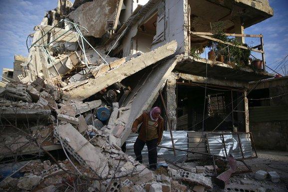 Sirija, Istočna Guta, bombardovanje
