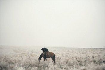 nomadi, Kazahstan