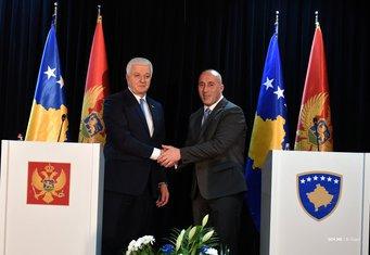 Ramuš Haradinaj, Duško Marković