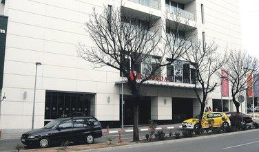 hotel Ramada, rampa