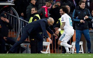 Zinedin Zidan Marselo Real Madrid