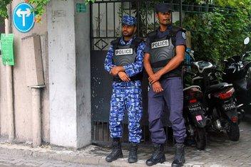 Maldivi, policija