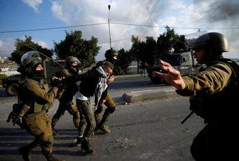 Zapadna obala, sukob Palestinaca i Izraelaca