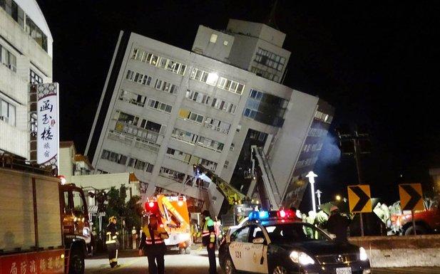 Tajvan, zemljotres