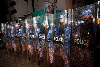 Maldivi policija