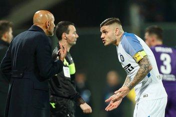 Inter Milano Lućano Spaleti Mauro Ikardi
