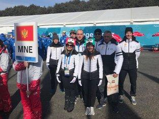 Crnogorski sportisti, ZOi u Pjongčangu