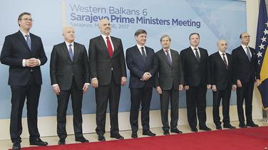 Aleksandar Vučić, Duško Marković, Edi Rama, Johanes Han