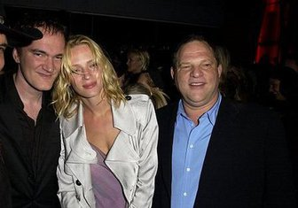 Kventin Tarantino, Uma Turman, _Harvi Vajnštajn