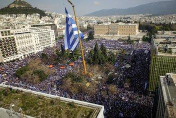 grčka protest, atina protest