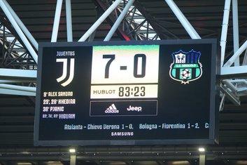 Juventus - Sasuolo 7:0