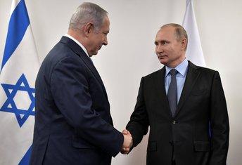 Benjamin Netanjahu, Vladimir Putin