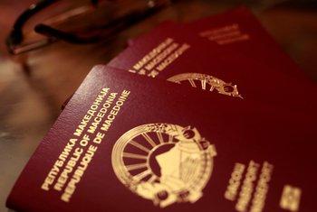 Makedonija, makedonski pasoš