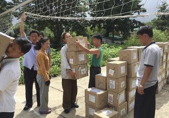 Sjeverna Koreja, humanitarna pomoć