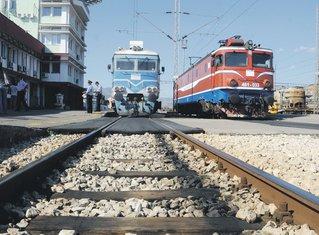 voz, vozovi, Željeznica