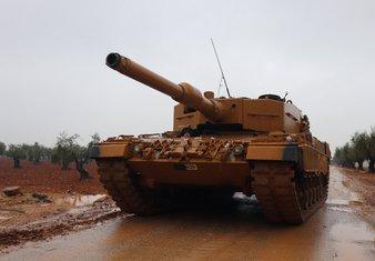 Tenk, Turska vojska