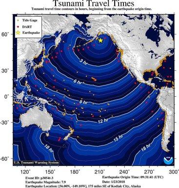 cunami Aljaska