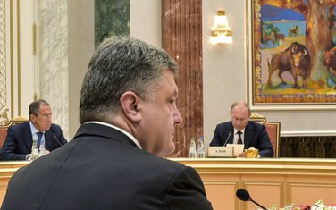 Petro Porošenko, Vladimir Putin