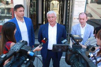 Nebojša Medojević, Andrija Mandić, Milan Knežević
