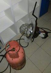 Plinska lampa i plinska boca