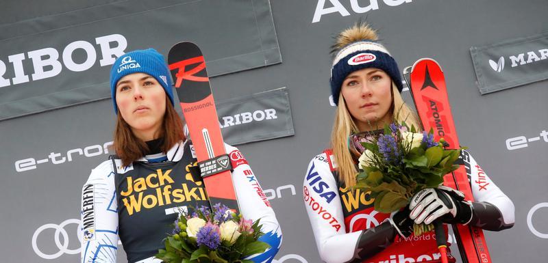 Mikaela Šifrin i Petra Vlhova