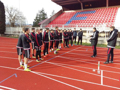 FK Rudar početak priprema