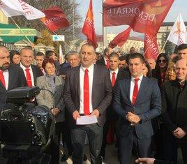 Demokratska crna Gora, predaja liste, Berane