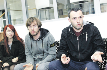 Neđeljko Jeknić, Bojan Veljović, Kristina Veljović