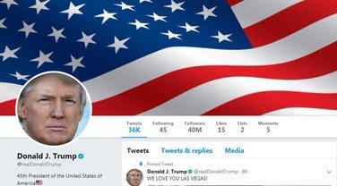 Donald Tramp Tviter
