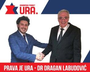Dritan Abazović, Dragan Labudović