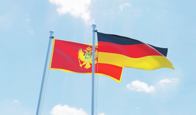 Crna Gora, Njemačka