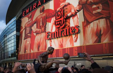 Arsenal, Bergkamp