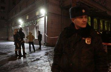 Sankt Peterburg napad, Sankt Peterburg eksplozija