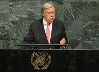 Antonio Gutereš, Generalna skupština UN