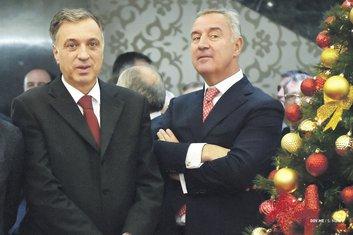 Filip Vujanović, Milo Đukanović