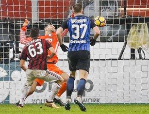 Patrik Kutrone Milan - Inter
